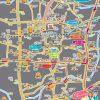 中野区周辺イラストマップ