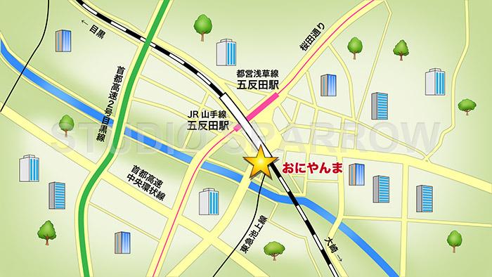 東京散歩店舗